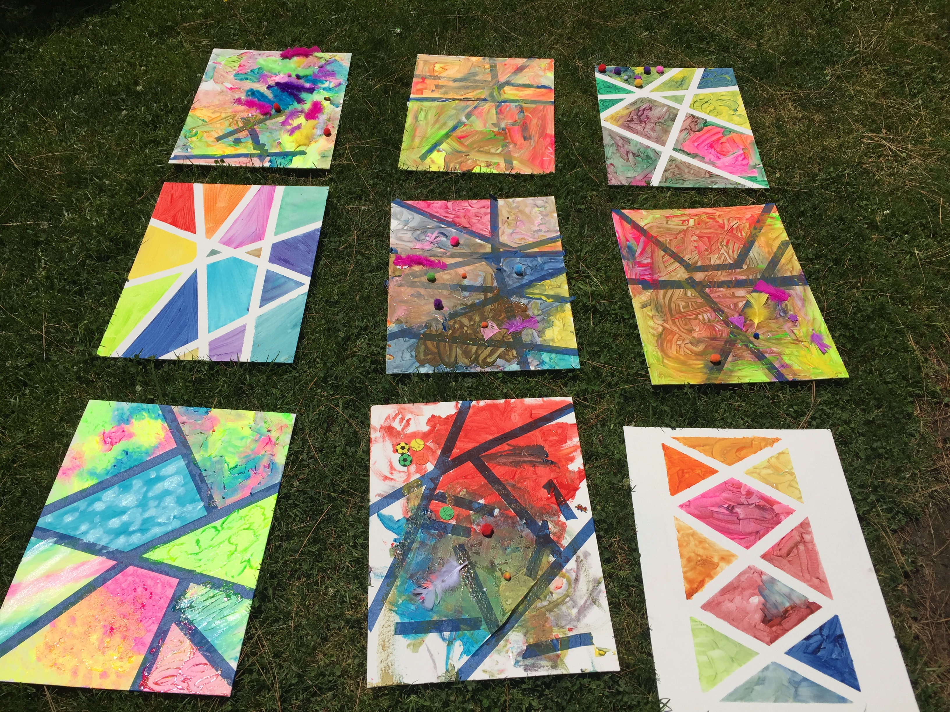 Fun Art Projects To Do With Toddlers Preschoolers Paper