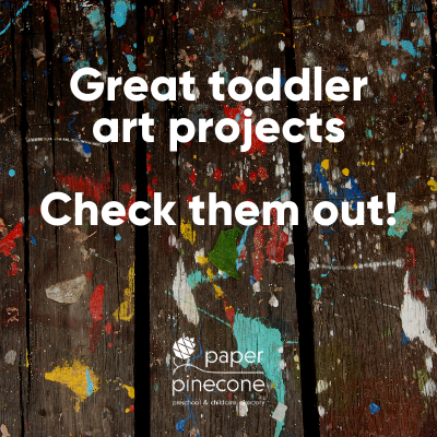art projects to do with toddlers