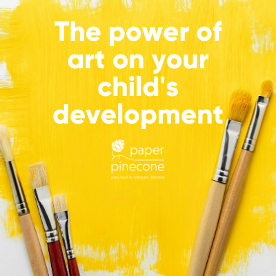 the power of art on a child's development