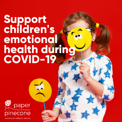 support children's emotional wellbeing during COVID-19
