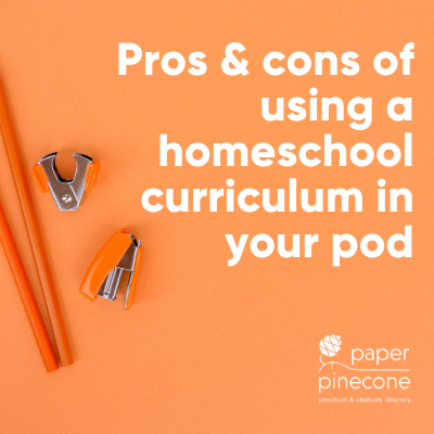 homeschool vs school's curriculum
