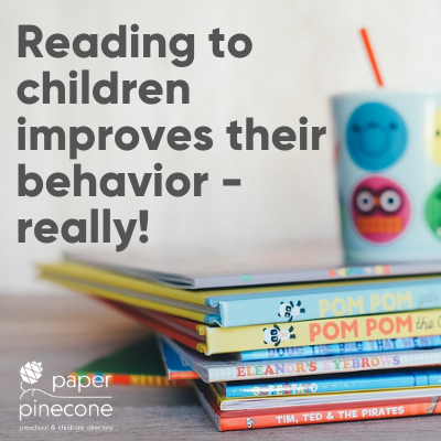 reading to your children improves their behavior