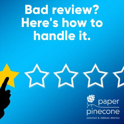 how to handle a bad review