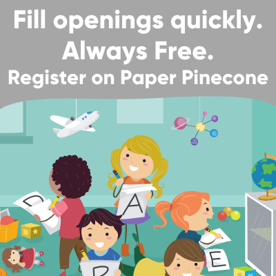 register on paper pinecone to fill your openings