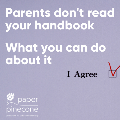 improve your parent handbook
