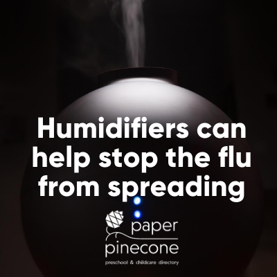 humidifiers help stop the spread of the flu
