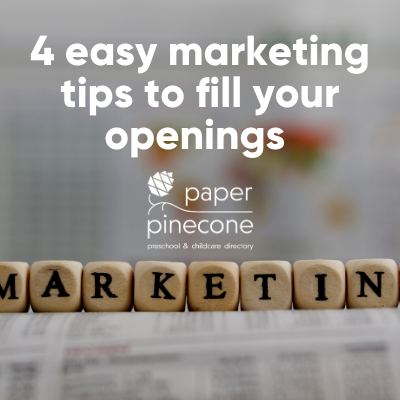 4 easy marketing tips to fill openings