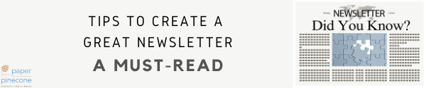 write the perfect preschool newsletters