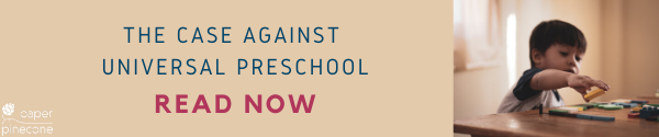the case against universal preschool