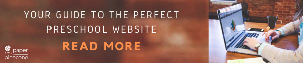 guide to the perfect preschool website