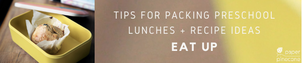 what to pack in a preschool lunch