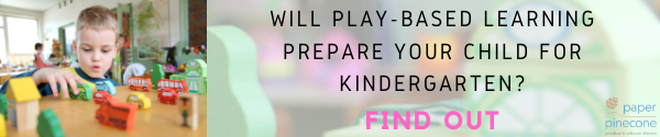 how play-based preschool prepares your child for kindergarten