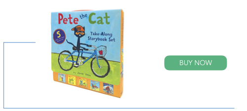 Pete The Cat take along story books