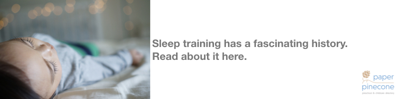 the history of sleep training