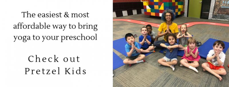most affordable way to bring yoga to your preschool